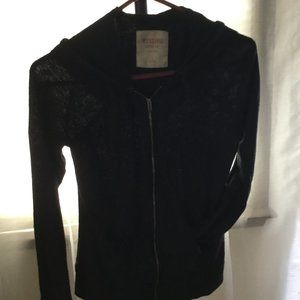 Mossimo Black Zip-Up Jacket